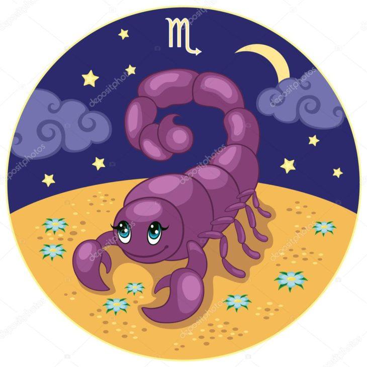 Картинки детский гороскоп скорпион