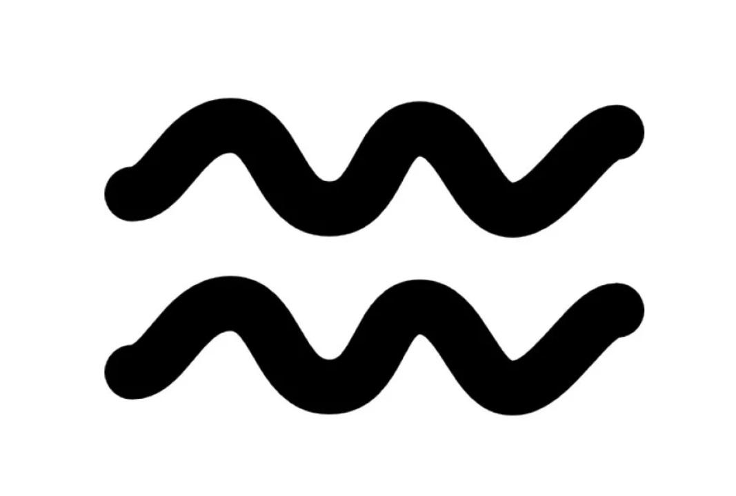 Символ водолеев